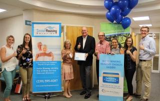 Blue Zones project recognizes Senior Housing Solutions