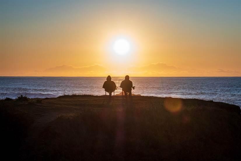 Sunset-People